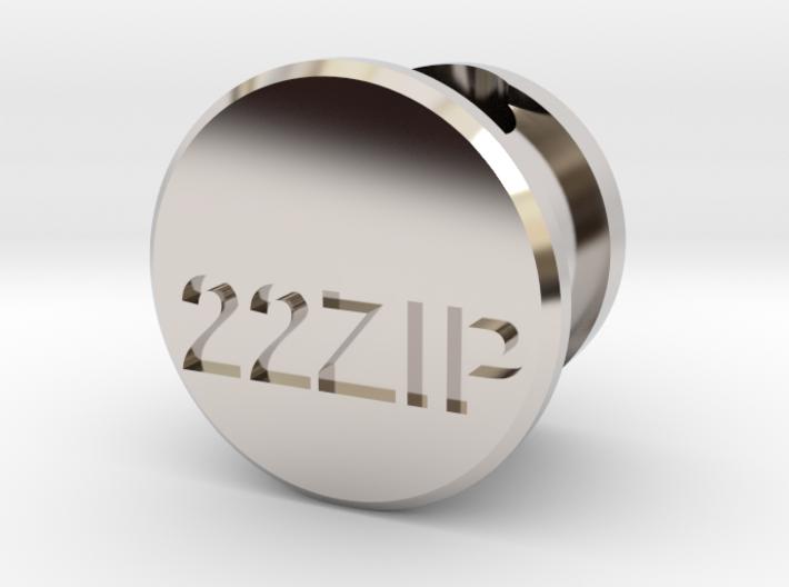 22 Zipper Mag Tube Plug 3d printed