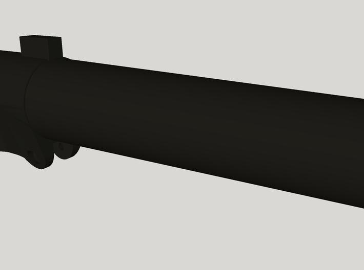 ROTJ EE-3 Body Barrel 3d printed