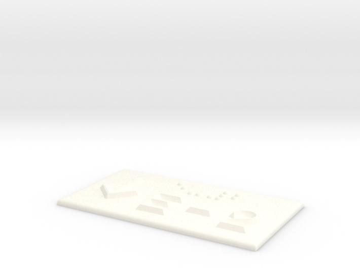 E-2 mit Pfeil nach unten 3d printed