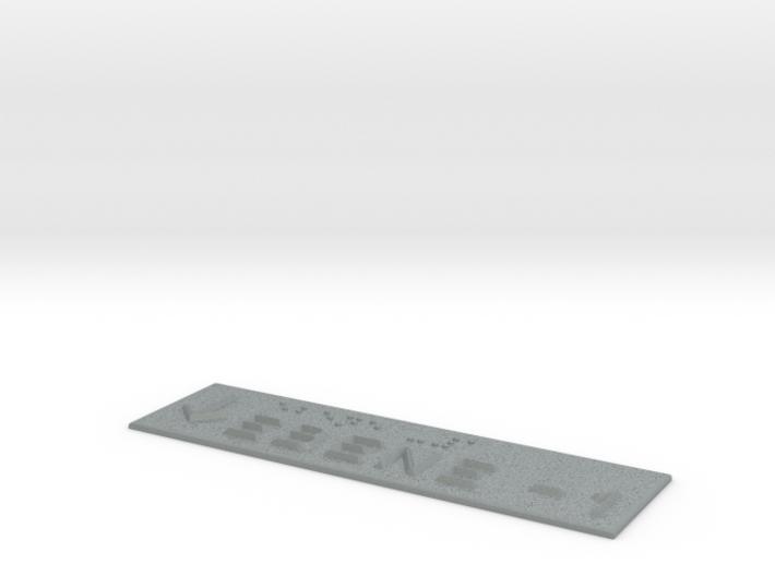 EBENE -1 mit Pfeil nach unten 3d printed