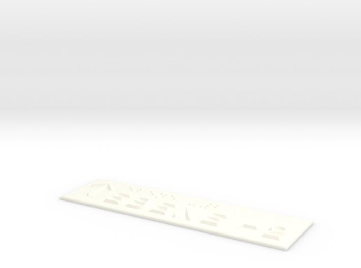 EBENE -2 mit Pfeil nach oben 3d printed