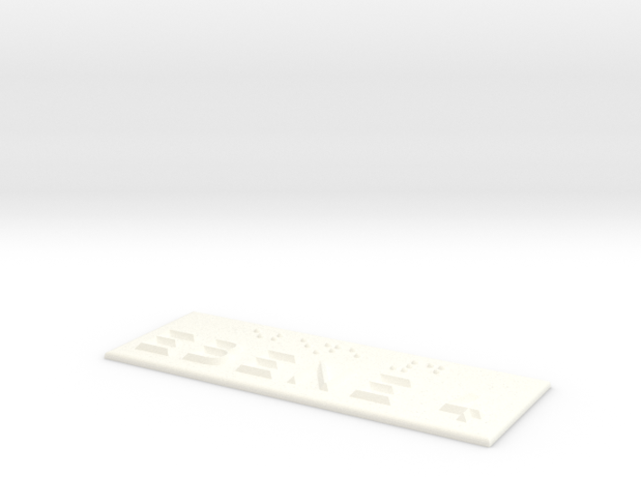 EBENE 4 3d printed
