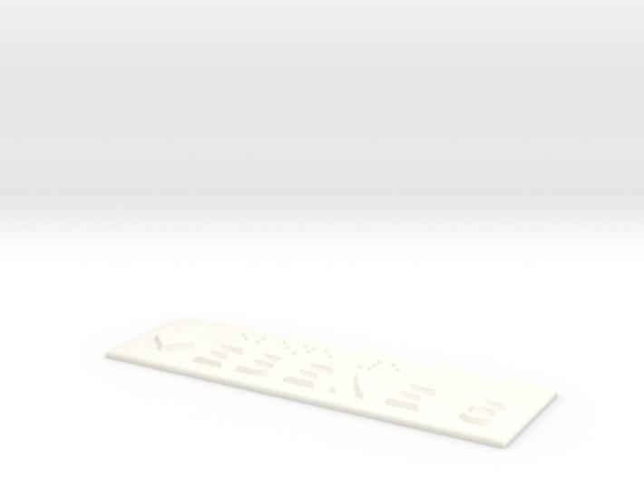 EBENE 5 mit Pfeil nach unten 3d printed
