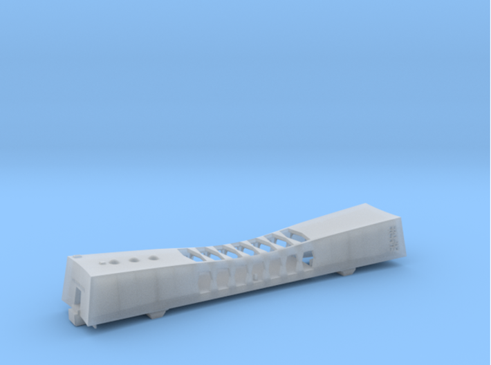 1/350 USS Arizona Memorial 3d printed Assembled model.