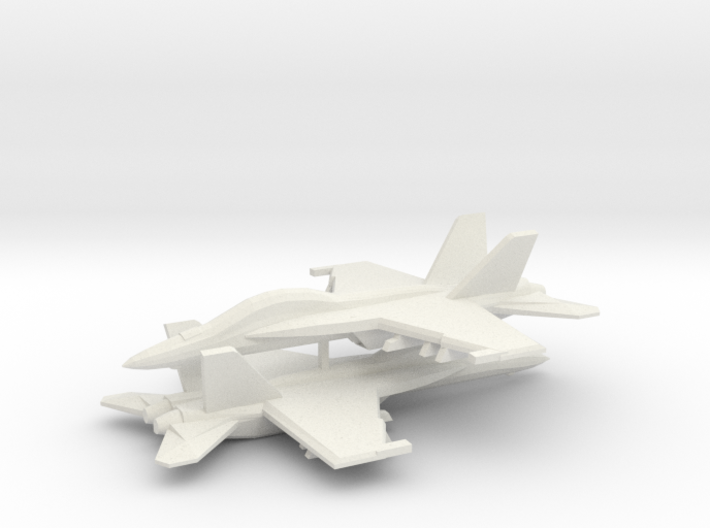 1/350 F/A-18F Super Hornet (x2) 3d printed