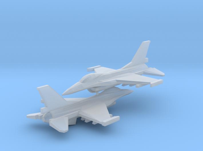 1/350 F-16C Viper (x2) 3d printed