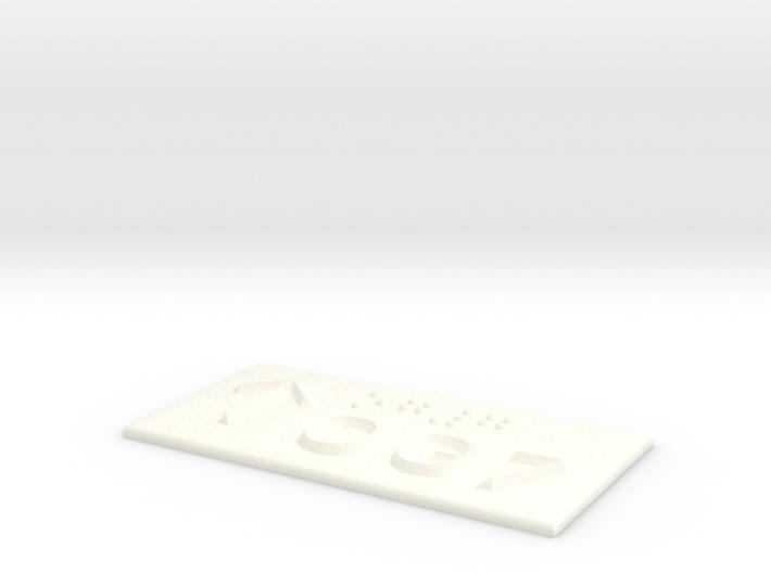 OG 7 mit Pfeil nach oben 3d printed