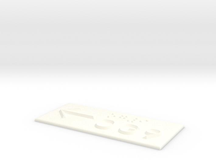 OG 9 mit Pfeil nach links 3d printed