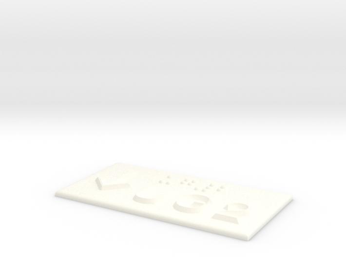 UG 2 mit Pfeil nach unten 3d printed
