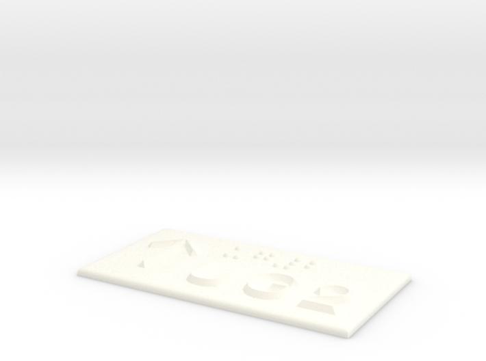 UG 2 mit Pfeil nach oben 3d printed