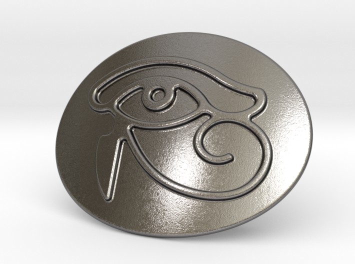 Eye Of Horus Belt Buckle 3d printed