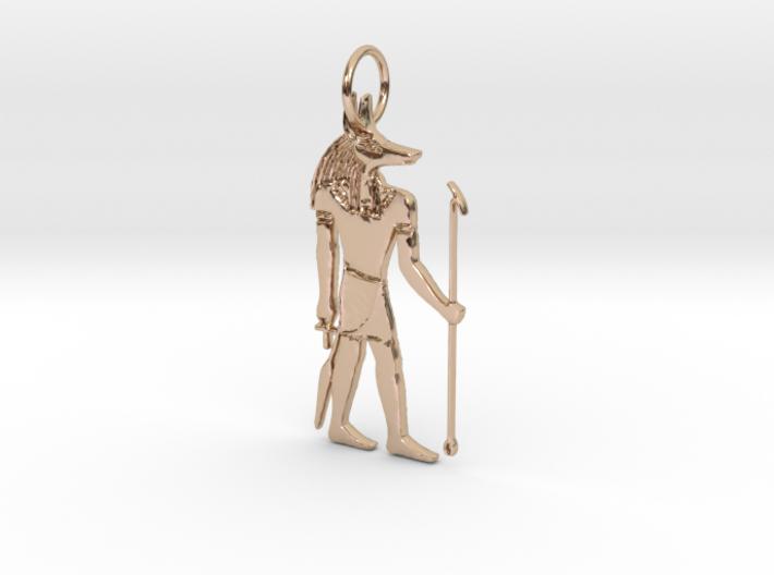 Anubis Power Pendant 3d printed