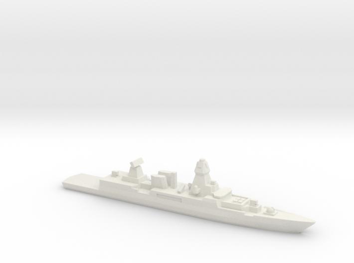 Sachsen-class frigate, 1/2400 3d printed