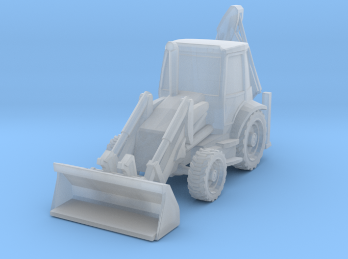 Backhoe Loader 01. N Scale (1:160) 3d printed