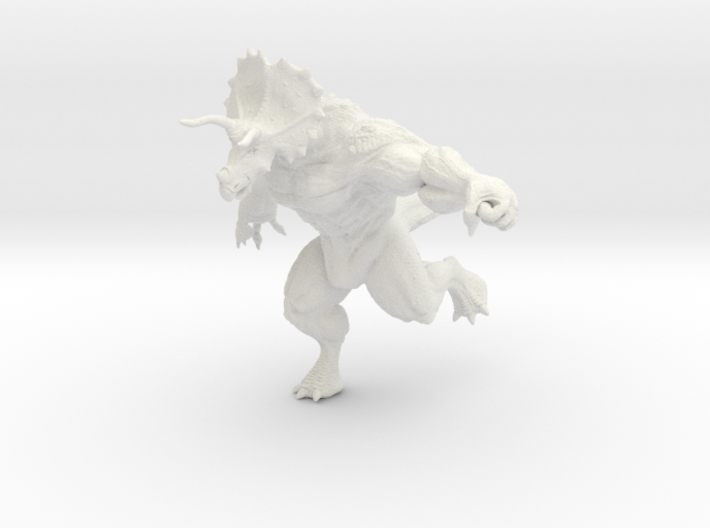 Trice-Human figurine 3d printed