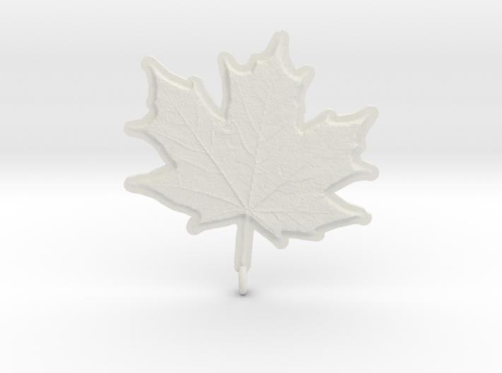 Maple Leaf Rock 3d printed