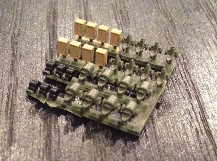 1:700 Scale Airfield Accessories 2 3d printed