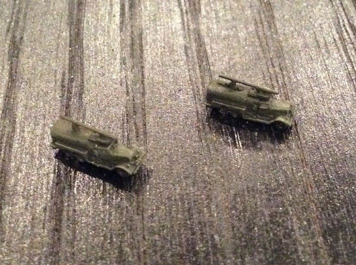 1:700 Scale WWII Fire Tender Class 150 3d printed