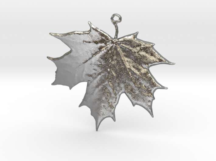 Lucky Maple Leaf 3d printed