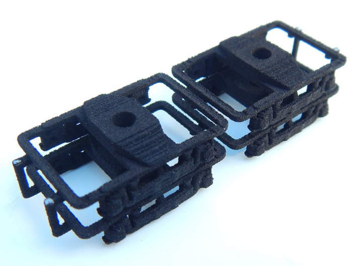 CNSM - 4 Interurban Trucks 3d printed