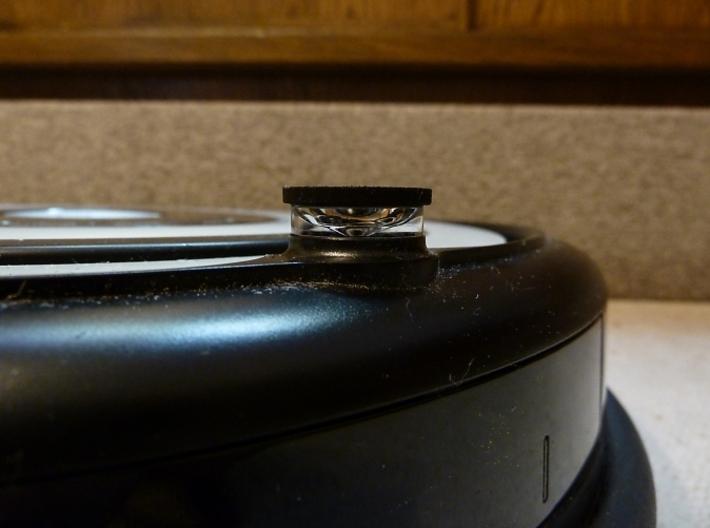 iRobot Roomba IR-Cap 3d printed iRobot Roomba with scratch protective IR-cap