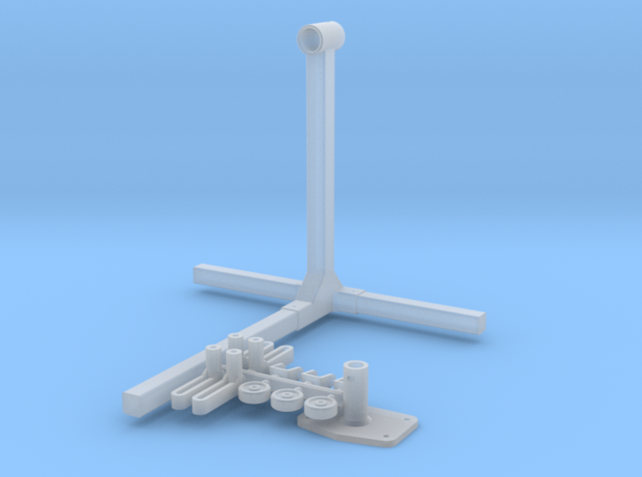 1/25 Engine Stand 3d printed