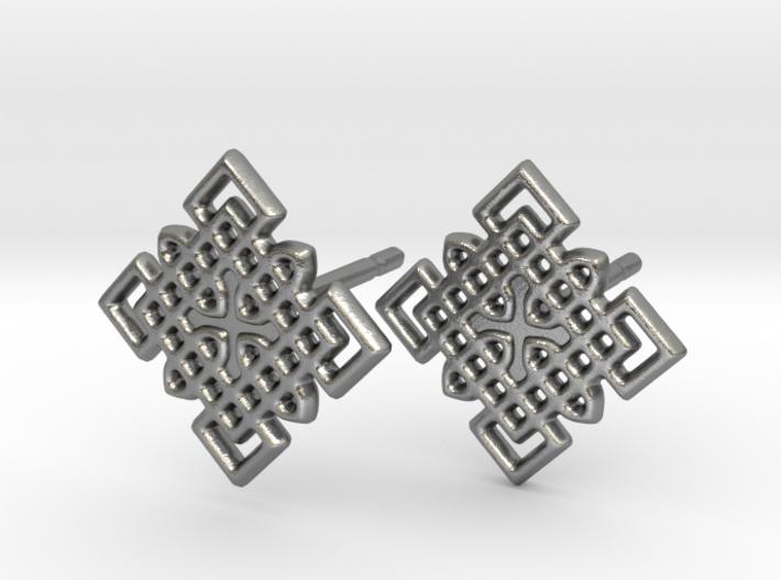 Celtic Cross Pattern Posts 3d printed