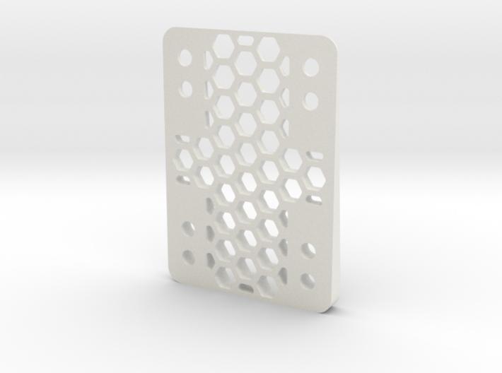 RazorWedge8Hole.4.5 3d printed