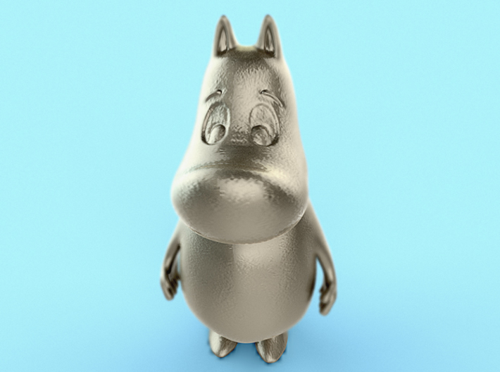 MoominTroll Awake 50mm 3d printed
