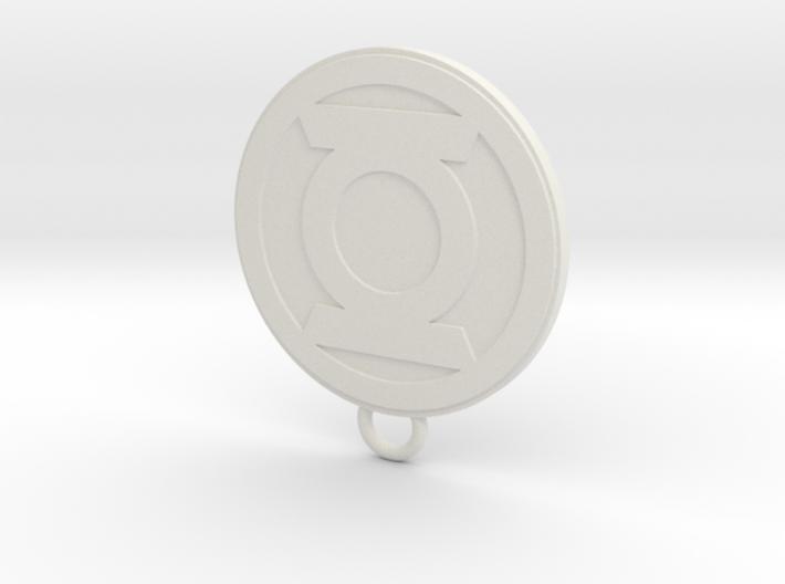 Lantern Fan Keychain 3d printed