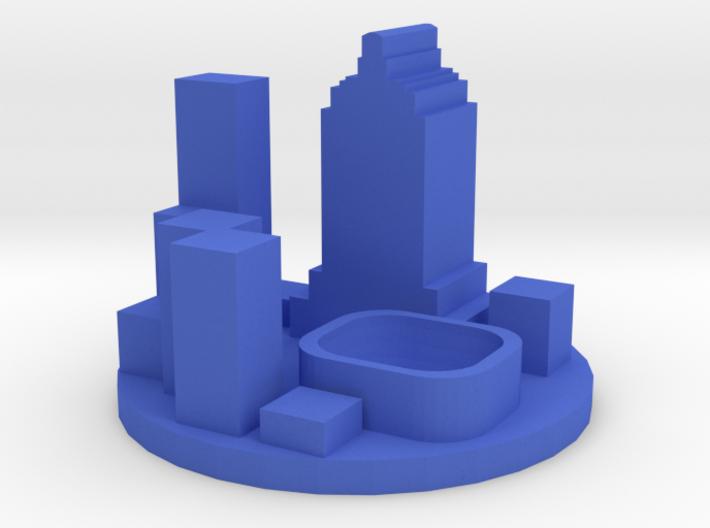 Game Piece, Modern City Token 3d printed