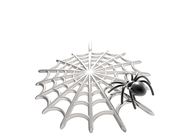 Spider & Web 3d printed