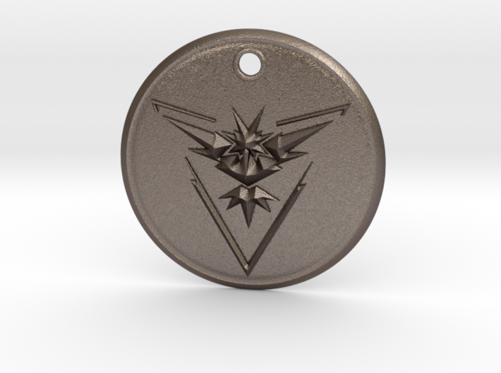 Team Instinct Pendant- Pokemon Go 3d printed