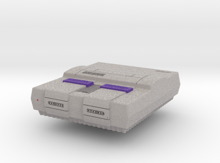 1:6 Super Nintendo Entertainment System 3d printed