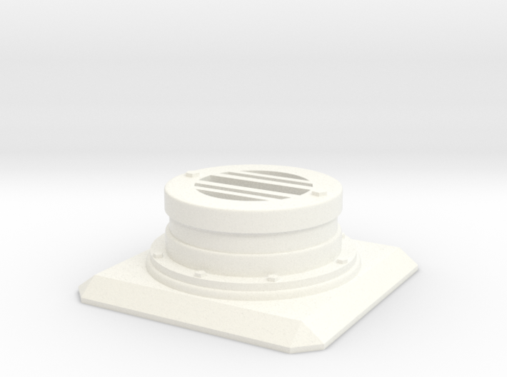 Modern Sewer Grate Plate 3d printed