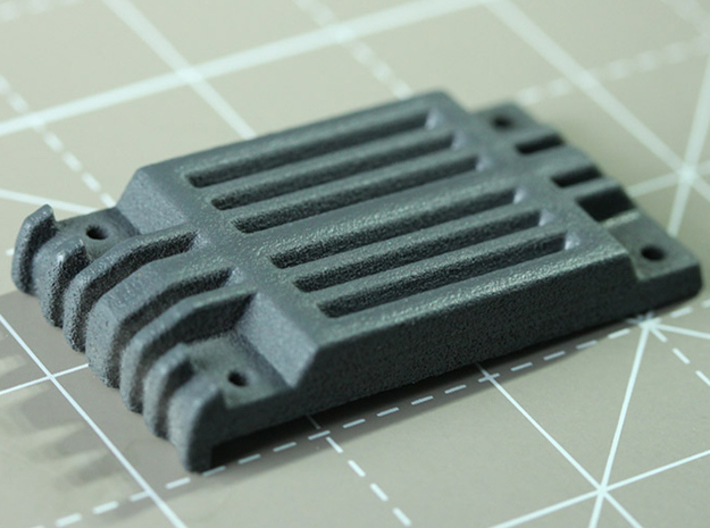 Sand Scorcher Sump Guard 3d printed The Sump Guard, printed in nylon plastic, painted in primer