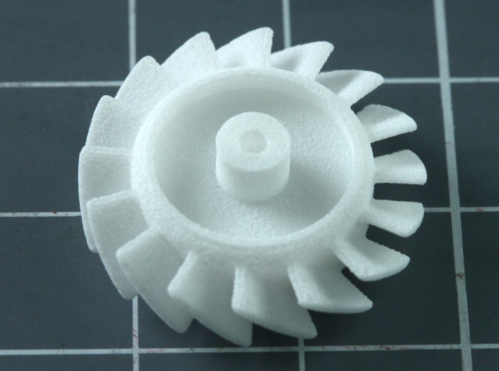 Sand Scorcher Cooling Fan 3d printed Cooling Fan, printed in nylon plastic
