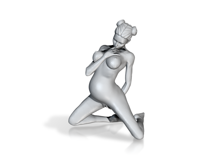 Sexy Pregnant Woman 1/16 3d printed