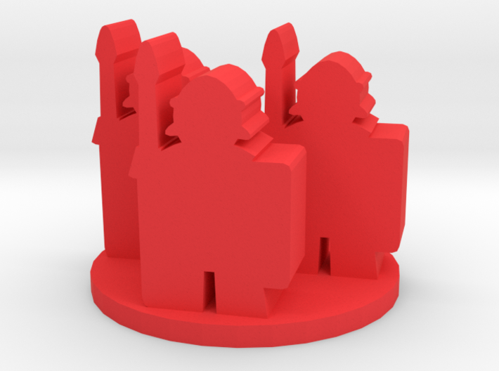 Game Piece, Roman Soldier Unit 3d printed