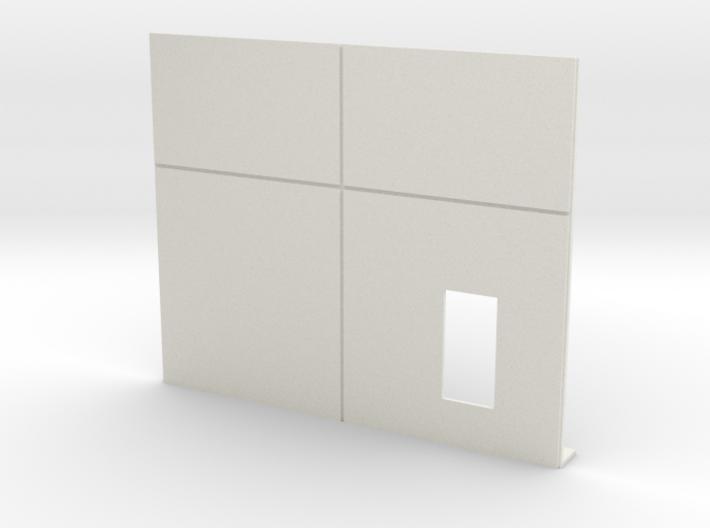 Personnel Door; Right 3d printed