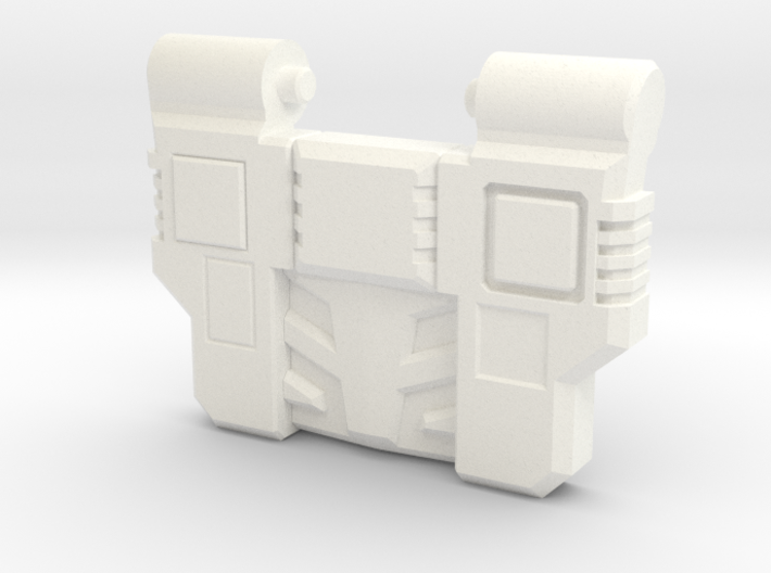 Reckless Driver's G1 Chest Plate v2 3d printed