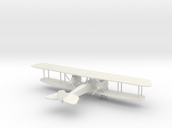 Rumpler G.III 3d printed 1/144 Rumpler G.III in WSF