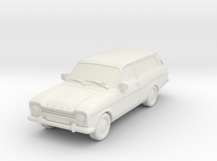 1:87 Escort mk1 estate v2 hollow 3d printed