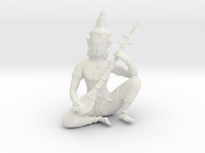 Indian God 3d printed