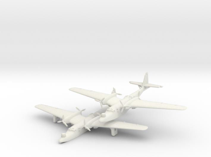 Dornier Do 26 (2 Airplanes) 6mm 1/285 3d printed