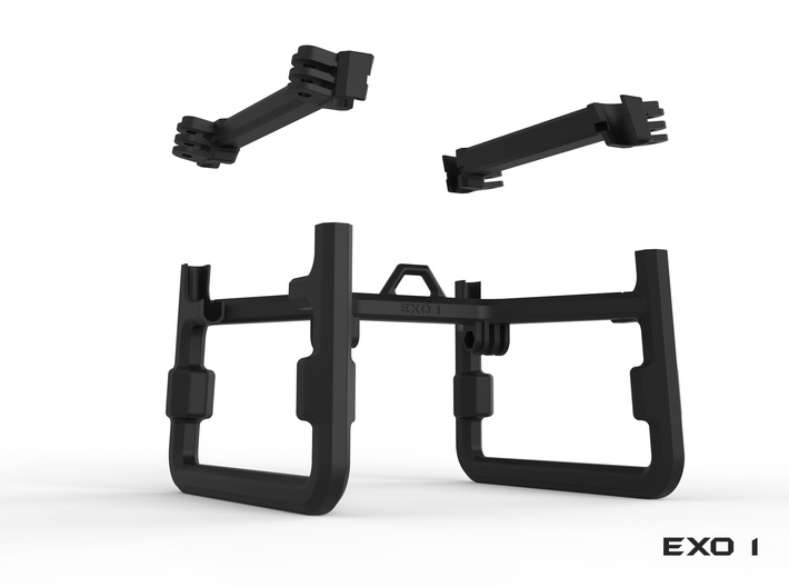 EXO 1  Search & Rescue Exoskeleton - Frame 3d printed Parts List