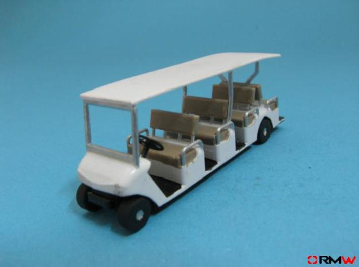 HO/1:87 Buggy 4 seating rows, kit 3d printed [en]painted and assembled