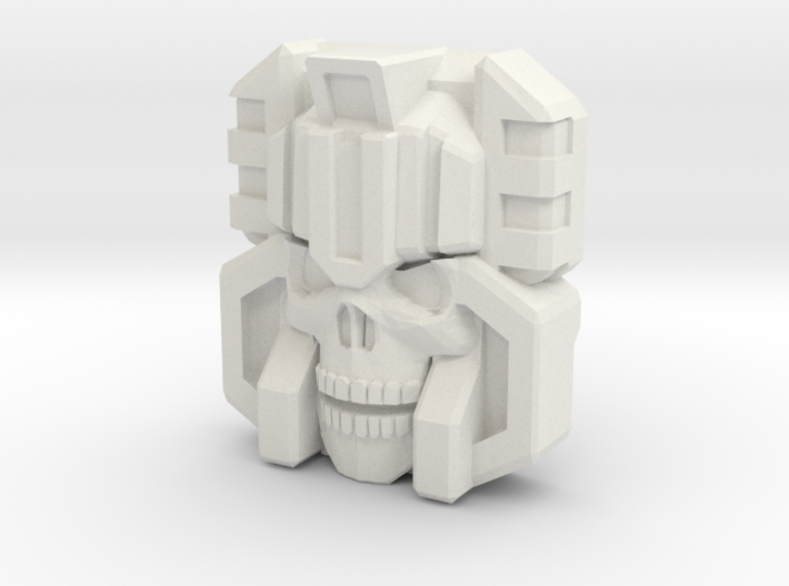 Monstructor Face, IDW (Titans Return) 3d printed