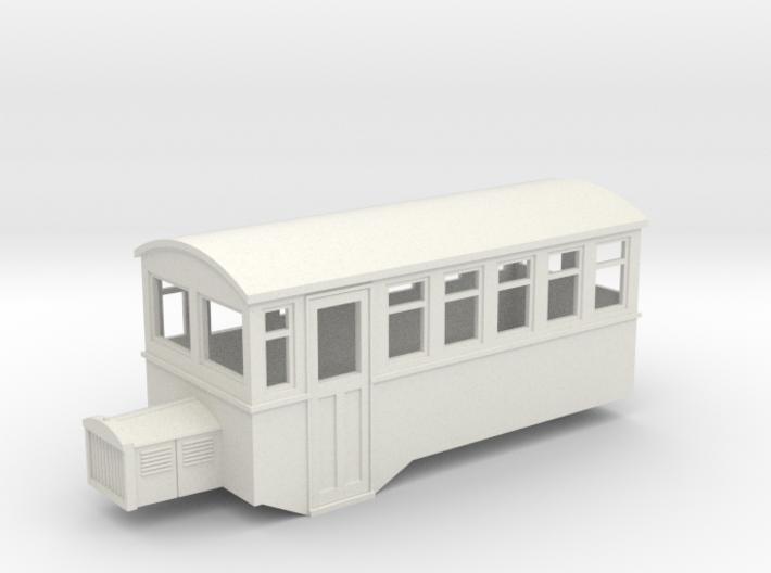 009 HOe Railbus 40 single ended 3d printed