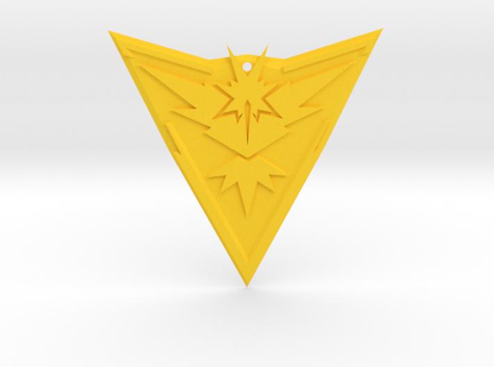 "Team Instinct Badge 4"" 3d printed"